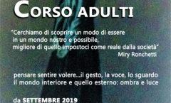 Corsi di recitazione per adulti e ragazzi - Inizio corsi 25 settembre 2019 ore 20.30