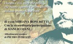 Recital dedicato a Giosuè Carducci