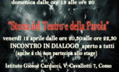 Stage parola e recitazione con Matteo Gazzolo