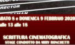 STAGE SCRITTURA CINEMATOGRAFICA